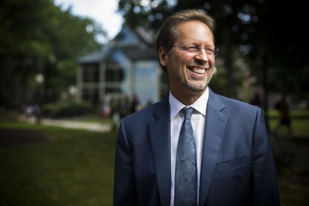 <p>Daniel Porterfield, president and CEO of The Aspen Institute and former president of Franklin & Marshall College <span>(Photo courtesy of Franklin & Marshall College)</span></p>
